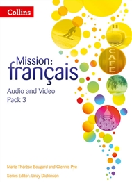 Mission: Français 3 Audio Video Pack - 9780007536528