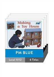 PM Plus Non-Fiction Blue: Houses Pack (6 titles) - 9780170096836