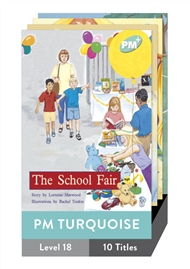 PM Plus Story Books Turquoise Level 18 Pack (10 titles) - 9780170097666