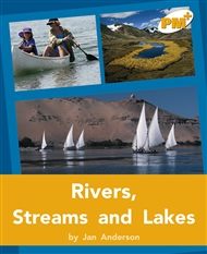 Rivers, Streams and Lakes - 9780170098021