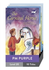 PM Plus Story Books Purple Level 20 Pack (10 titles) - 9780170098182