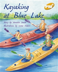 Kayaking at Blue Lake - 9780170098557