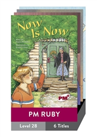 PM Plus Story Books Ruby Level 28 Set B Pack (6 titles) - 9780170099257