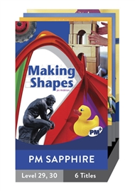 PM Plus Non-Fiction Sapphire: On the Move Pack (6 titles) - 9780170099394
