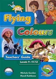 Flying Colours Blue - Teacher's Guide, Levels 9-12 - 9780170117319
