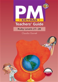 PM Extras Ruby Level 27-28 Teacher's Guide - 9780170120104