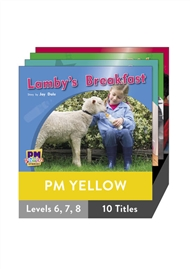 PM Photo Stories Yellow Level 6-8 Pack (10 titles) - 9780170123099