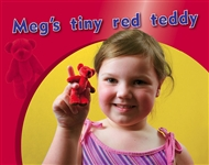 Meg's tiny red teddy - 9780170123181