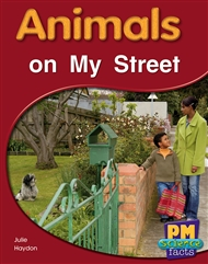 Animals on My Street - 9780170123891
