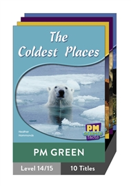 PM Science Facts Green Level 14-15 Pack (10 titles) - 9780170124157