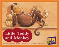 Little Teddy and Monkey - 9780170124270