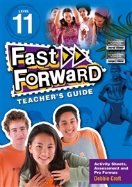Fast Forward Blue Level 11 Teacher's Guide - 9780170125604