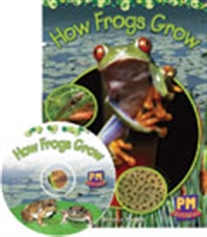 PM Shared Facts - How Frogs Grow Big Book, Levels 1-2 - 9780170128278