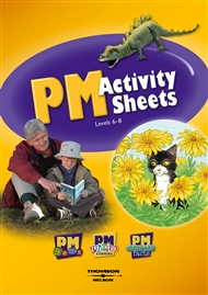 PM Activity Sheets on CD Level 6-8 (Site Licence) - 9780170128858