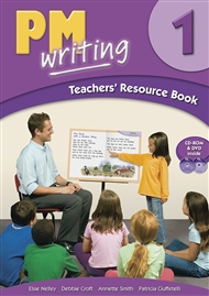 PM Writing 1 Teachers' Resource Book (with Site Licence CD & DVD) - 9780170131490