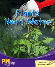 Plants Need Water - 9780170132602