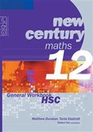 New Century Maths 12 General Workbook HSC - 9780170135085