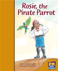 Rosie, the Pirate Parrot - 9780170136341