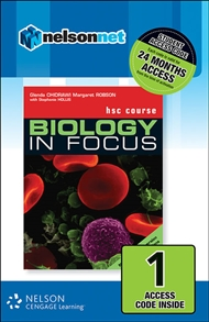 Biology in Focus HSC Course with Options (1 Access Code Card) - 9780170164511