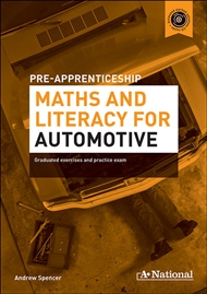 A+ National Pre-apprenticeship Maths and Literacy for Automotive - 9780170181426
