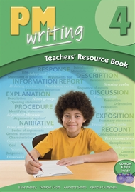 PM Writing 4 Teachers' Resource Book (with Site Licence CD & DVD) - 9780170182300