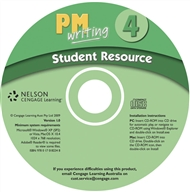 PM Writing 4 Student Resource CD (Site Licence) - 9780170182348