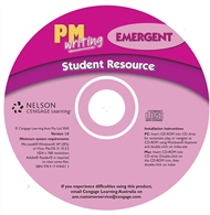 PM Writing Emergent Student Resource CD - 9780170184212