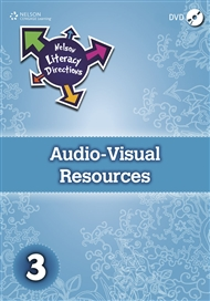Nelson Literacy Directions 3 Audio-Visual Resources DVD - 9780170184441