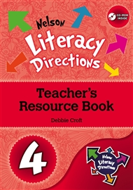 Nelson Literacy Directions 4 Teacher's Resource Book with CD-ROM - 9780170184458