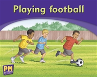 Playing football - 9780170186070