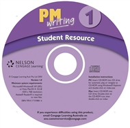 PM Writing 1 Student Resource CD (Site Licence) - 9780170188616