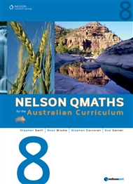 Nelson QMaths Year 8 for the Australian Curriculum - 9780170194778