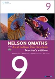 Nelson QMaths for the Australian Curriculum Year 9 Teacher's Edition - 9780170194839