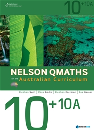 Nelson QMaths for the Australian Curriculum Advanced 10+10A - 9780170194860