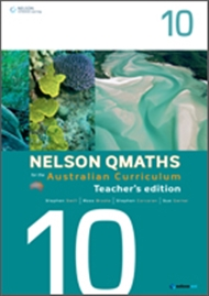 Nelson QMaths for the Australian Curriculum Year 10 Teacher's Edition - 9780170194891