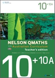 Nelson QMaths for the Australian Curriculum Advanced 10+10A Teacher's Edition - 9780170194907