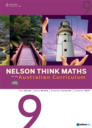 Nelson Think Maths for the Australian Curriculum Year 9 - 9780170195010