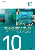 Nelson Think Maths for the Australian Curriculum Year 10 Teacher's Edition
