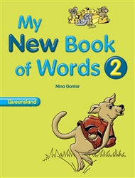 My New Book of Words QLD 2 - 9780170195249