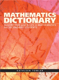Mathematics Dictionary - 9780170198141