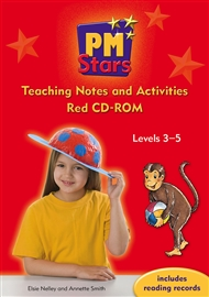 PM Stars Red Activities and Teaching Notes CD-ROM - 9780170199247