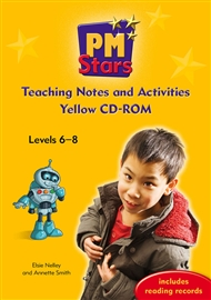 PM Stars Yellow Activities and Teaching Notes CD-ROM - 9780170199254