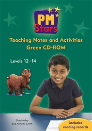 PM Stars Green Activities and Teaching Notes CD-ROM - 9780170199278
