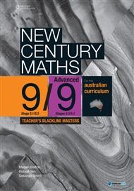 New Century Maths 9 Advanced Teacher's Blackline Masters - 9780170210812