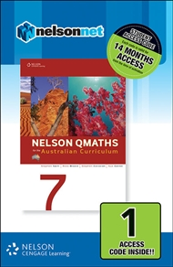 Nelson QMaths 7 for the Australian Curriculum (1 Access Code Card) - 9780170214186