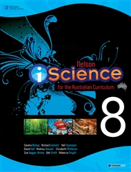 Nelson iScience for the Australian Curriculum Year 8 (Student Book with 4 Access Codes) - 9780170214292