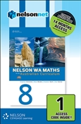 Nelson WA Maths 8 for the Australian Curriculum (1 Access Code Card)