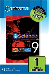 Nelson iScience Year 9 for the Australian Curriculum (1 Access Code Card) - 9780170218634