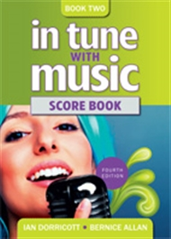 In Tune with Music 2 Scorebook - 9780170221276