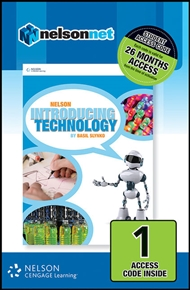 Nelson Introducing Technology (1 Access Code Card) - 9780170226295